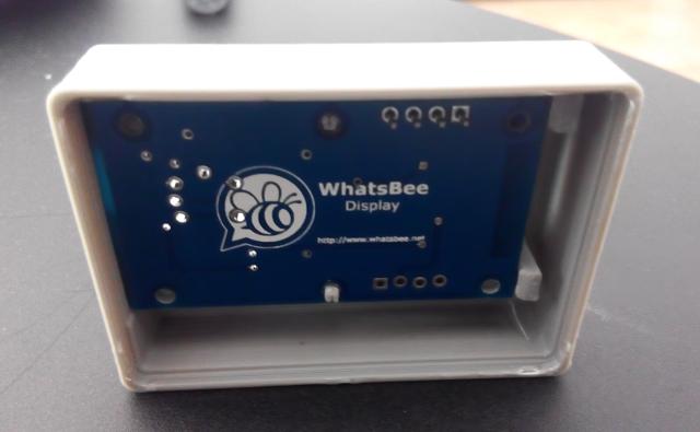 PCB en el interior de la caja